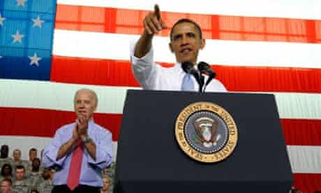 President Barack Obama and Joe Biden