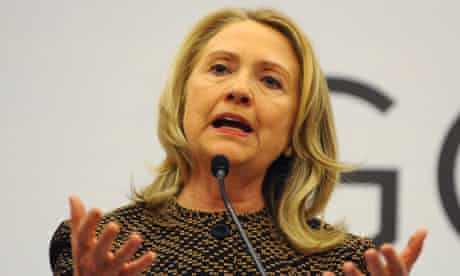 Hillary Clinton in Istanbul