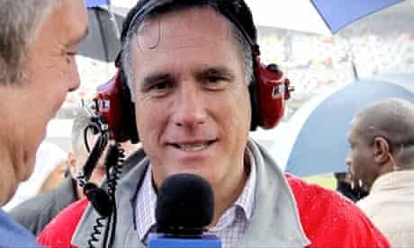 Republican presidential candidate Mitt Romney