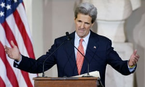 John Kerry concedes to George Bush in 2004