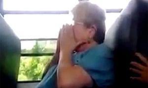 High school students bully and threaten school bus monitor Karen Klein