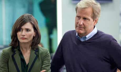 Emily Mortimer and Jeff Daniels in The Newsroom