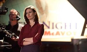 Emily Mortimer in The Newsroom
