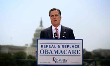 Mitt Romney, supreme court healthcare