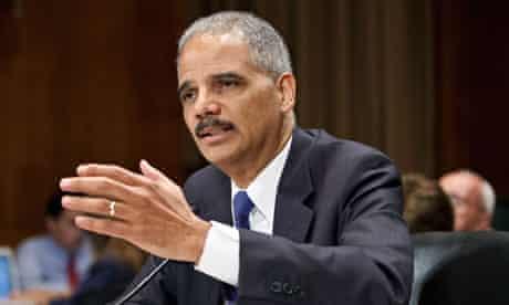 Eric Holder, US attorney-general