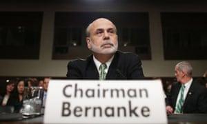 Ben Bernanke on Capitol Hill