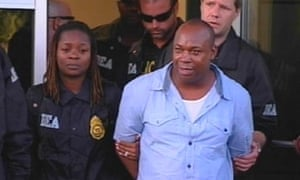 Christopher 'Dudus' Coke in 2012 after being extradited to US to face drug charges