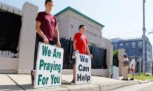 Anti-abortion advocates in Mississippi