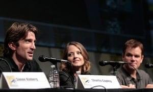 Sharlto Copley, Jodie Foster and Matt Damon discuss Elysium at Comic-Con