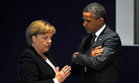 Barack Obama, Angela Merkal, copy approval