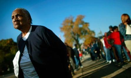 Black voters in Birmingham, Alabama