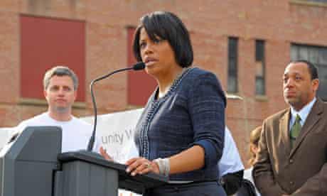Baltimore mayor Stephanie Rawlings-Blake
