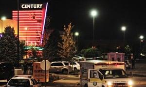 The Century 16 theater in Aurora, Colorado