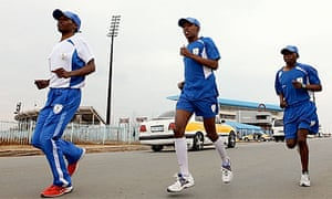 London 2012: Lesotho Olympic athletes welcomed in Wales - video