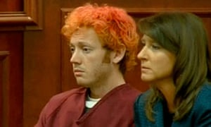 James Holmes, accused of killing 12 people at a movie theatre in Colorado, appears in court