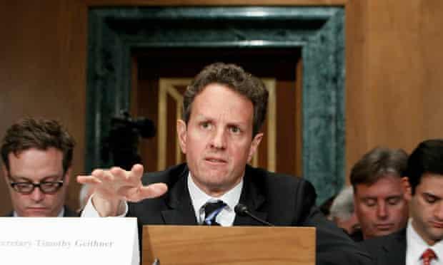 US Treasury secretary Tim Geithner