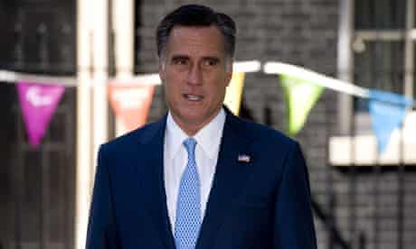 Mitt Romney. With added bunting