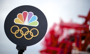 The NBC Olympic studio in London