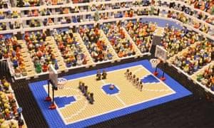 Brick basketball