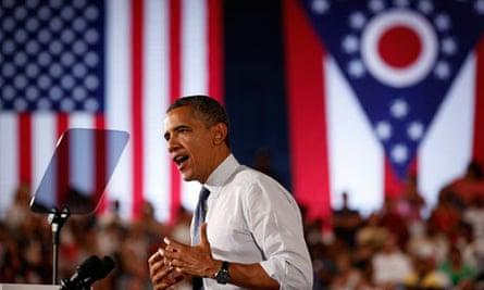 Barack Obama in Akron