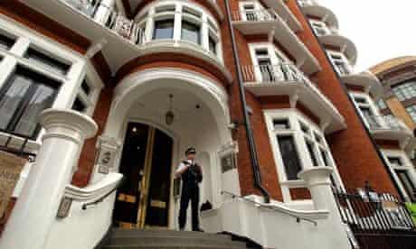 Ecuador's embassy in London