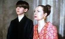 Joby Grabner and Tilda Swinton in Edward II