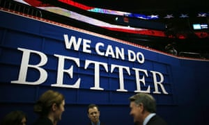 A sign at the Republican national convention in Tampa