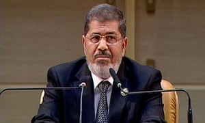 Mohammed Morsi speaks in Tehran