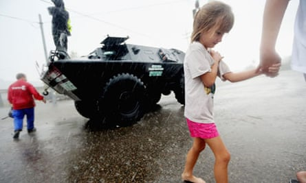 Isaac evacuees in Slidell, Louisiana