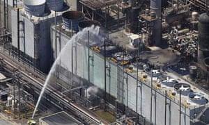 Chevron refinery fire, Richmond, California
