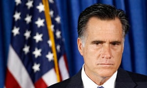 Mitt Romney listens to questions on the Benghazi attack