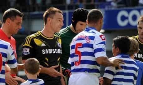 QPR v Chelsea; Terry v Ferdinand
