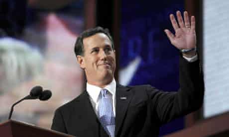 Rick Santorum in Tampa