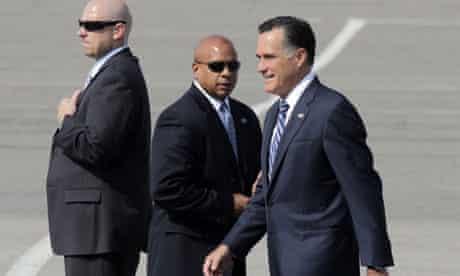 Mitt Romney in Salt Lake City