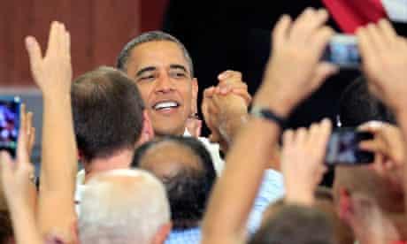 The Obama campaign reaches Ohio