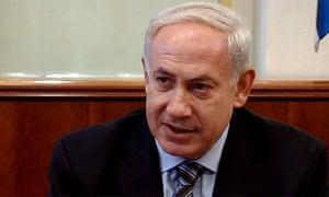 The Israeli prime minister, Binyamin Netanyahu