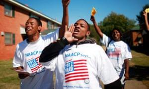 Voting rights, discrimination, Obama