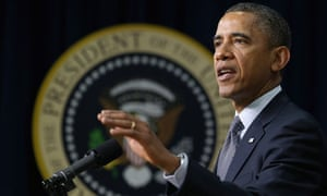 Barack Obama at the news conference