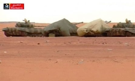 Algerian tanks