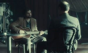Oscar Isaac in a still from Inside Llewyn Davis