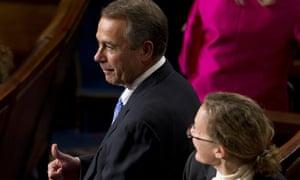 John Boehner wins re-election as House speaker