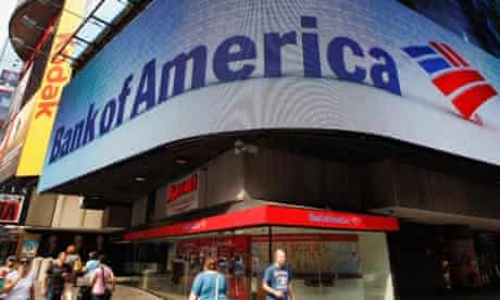Bank of America in New York