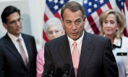 John Boehner, House speaker