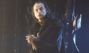 Brad Dourif as Grima Wormtongue in Lord of the Rings: The Two Towers