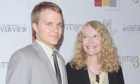 Ronan and Mia Farrow