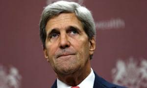 John Kerry in London