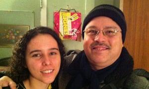 Samuel Cruz and his daughter Frances