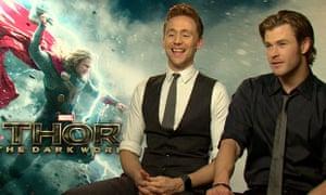 Thor 2: Chinese cinema accidentally uses faked Thor and Loki cuddle