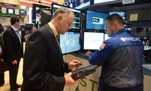 Investors: anxious