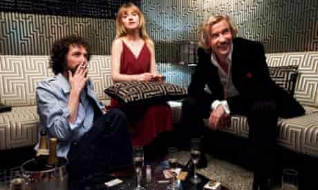 Chris Addison, Imogen Poots and Steve Coogan in The Look of Love